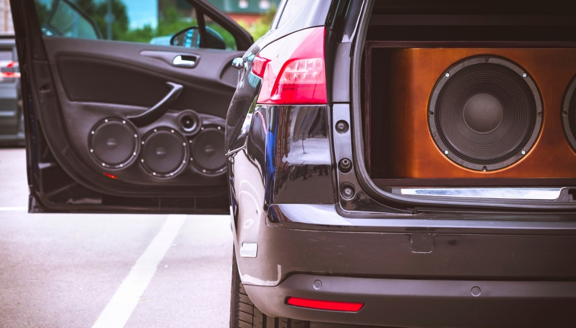 use a car subwoofer to a home stereo