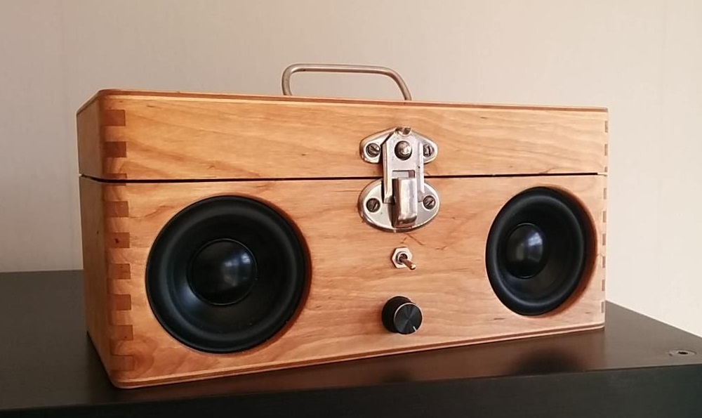 material for a subwoofer box